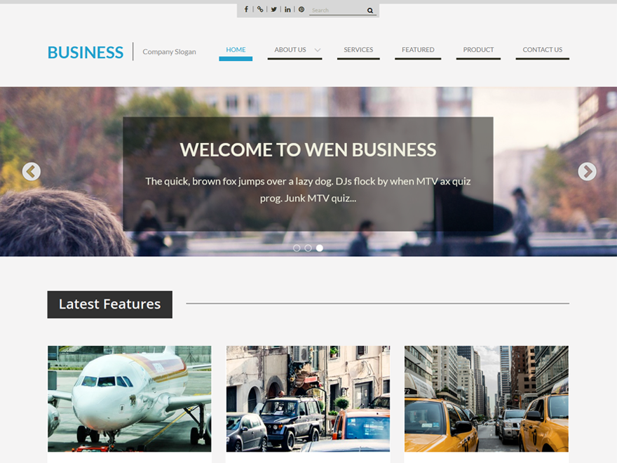 business-wp-template